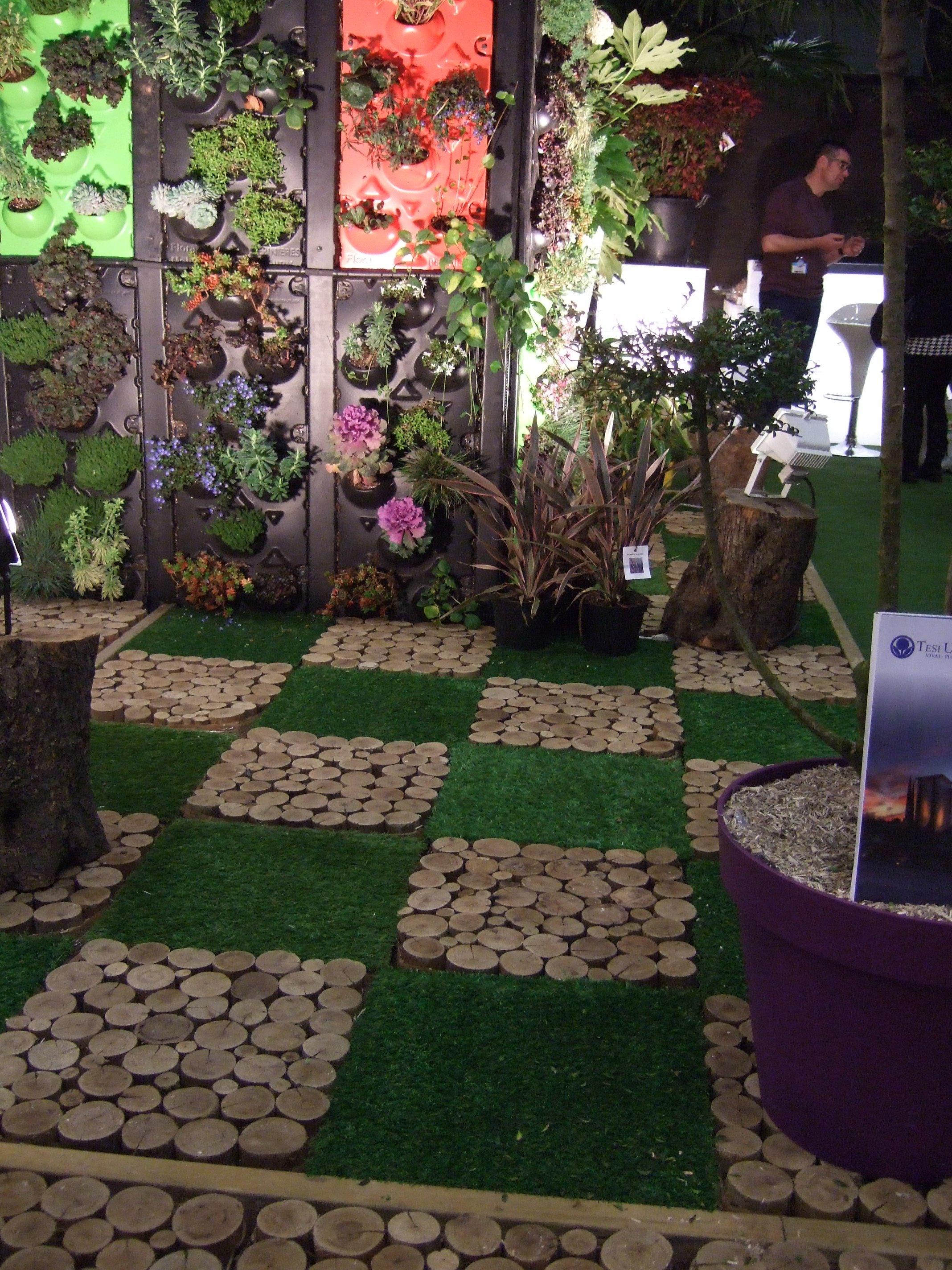 Le chesnoy les bac pro horti au salon du v g tal for Salon vegetal lyon